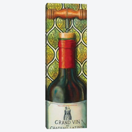 Grand Vin Canvas Print #CAG20} by Carmen Gonzalez Art Print