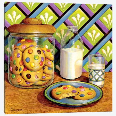 Mommy Made Cookies Canvas Print #CAG27} by Carmen Gonzalez Canvas Art