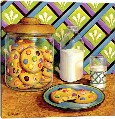 Mommy Made Cookies Canvas Art Print