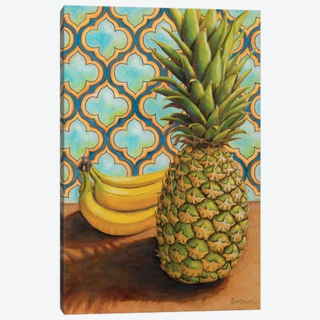 Anana Ou Banana Canvas Print #CAG3} by Carmen Gonzalez Canvas Print