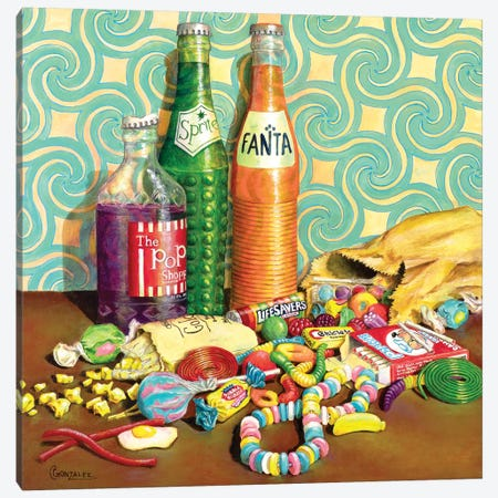 Sugar Junkie Canvas Print #CAG53} by Carmen Gonzalez Canvas Art