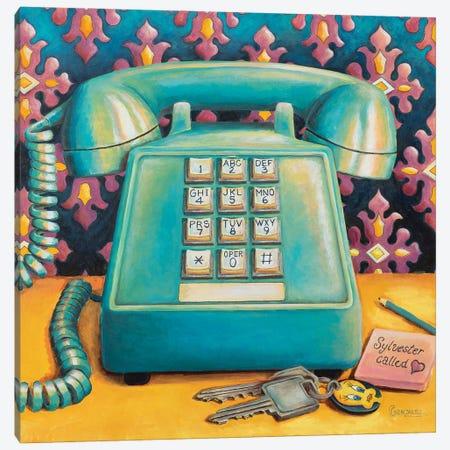 Sylvester Called Canvas Print #CAG56} by Carmen Gonzalez Canvas Art Print