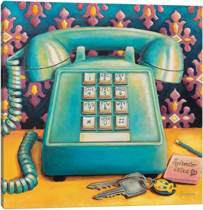 Sylvester Called Canvas Art Print