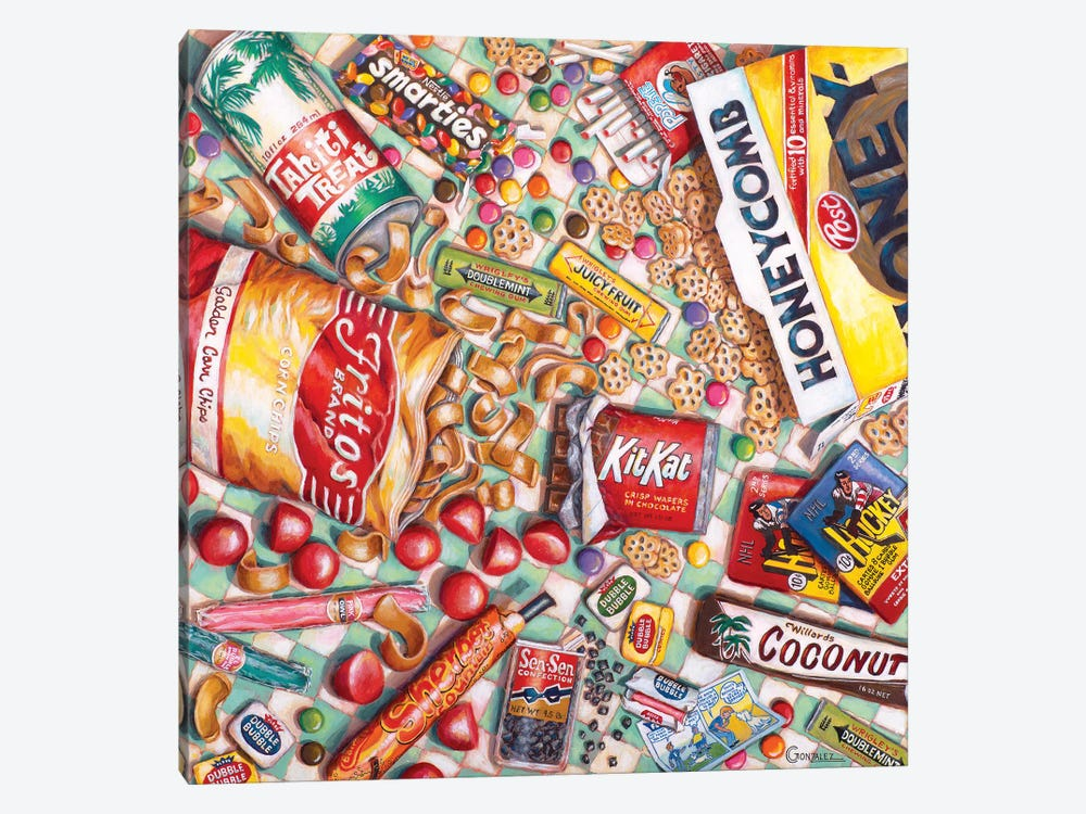 Sweet Memories by Carmen Gonzalez 1-piece Canvas Artwork