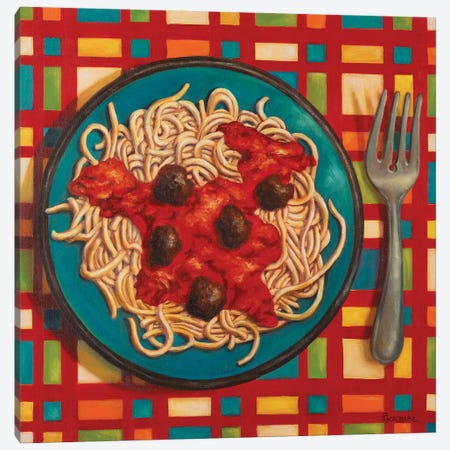 Bessghetti!!! 3-Piece Canvas #CAG9} by Carmen Gonzalez Canvas Print