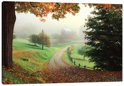 Sleepy Hollow Farm Canvas Art Print