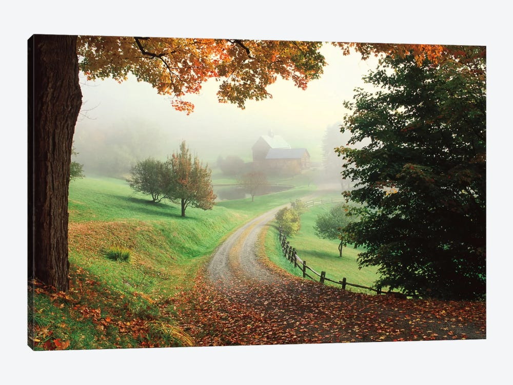 Sleepy Hollow Farm by Michael Cahill 1-piece Canvas Art Print