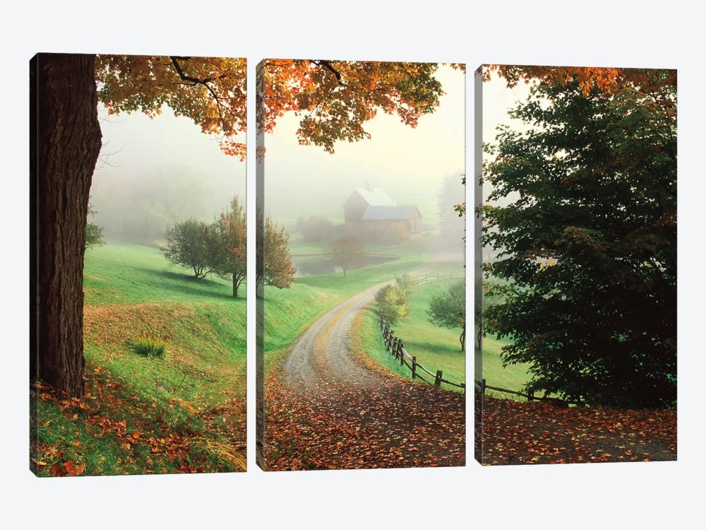 Sleepy Hollow Farm 3-piece Canvas Art Print