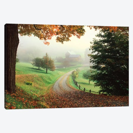 Sleepy Hollow Farm Canvas Print #CAH1} by Michael Cahill Canvas Wall Art