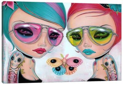 Genus Rainbowis Canvas Art Print