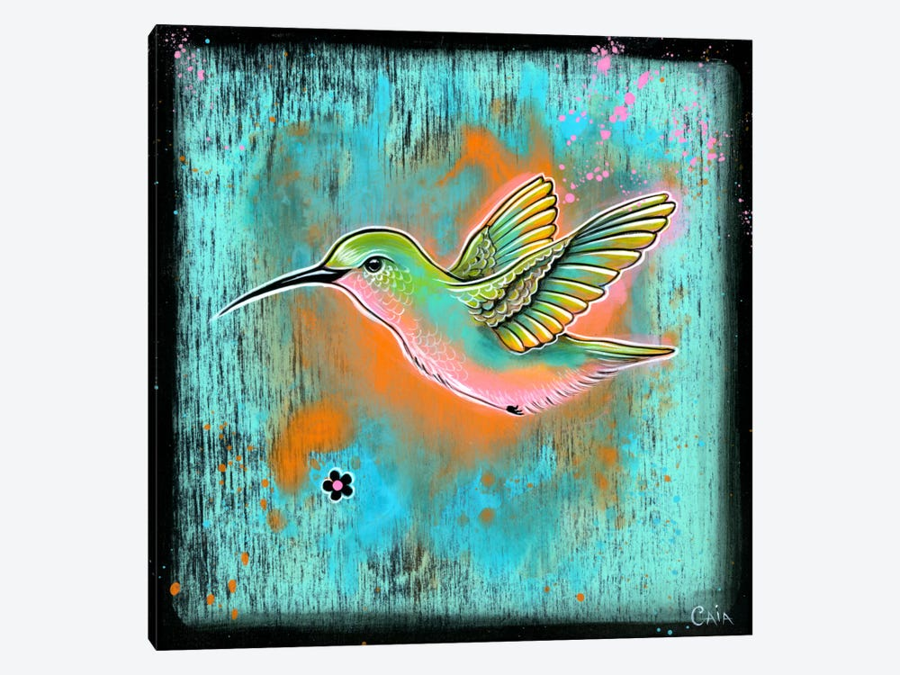 Avian Intent 1-piece Canvas Wall Art