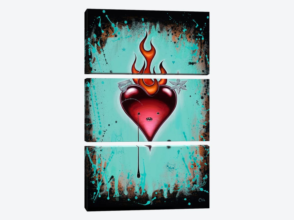 It's Dangerous Out There by Caia Koopman 3-piece Canvas Artwork