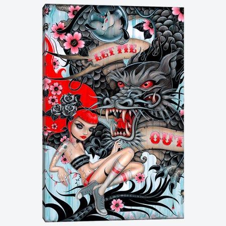 Let Me Out Canvas Print #CAI23} by Caia Koopman Canvas Art Print