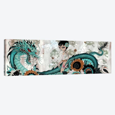 Liberty & Blaze Canvas Print #CAI24} by Caia Koopman Canvas Wall Art