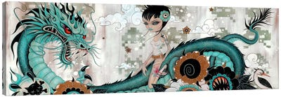 Liberty & Blaze Canvas Art Print