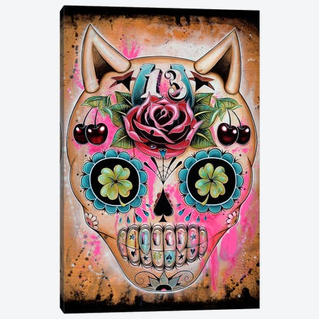 Lucky 13 Canvas Print #CAI26} by Caia Koopman Canvas Artwork