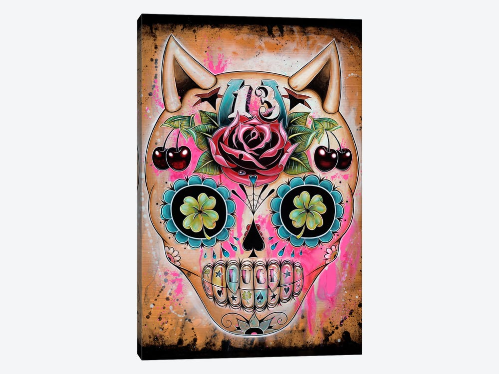Lucky 13 by Caia Koopman 1-piece Canvas Print