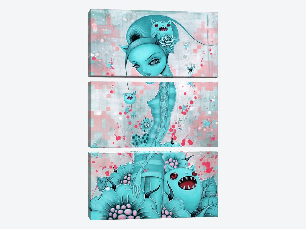 Mittens 3-piece Canvas Print