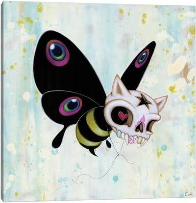Bad Bee Canvas Art Print