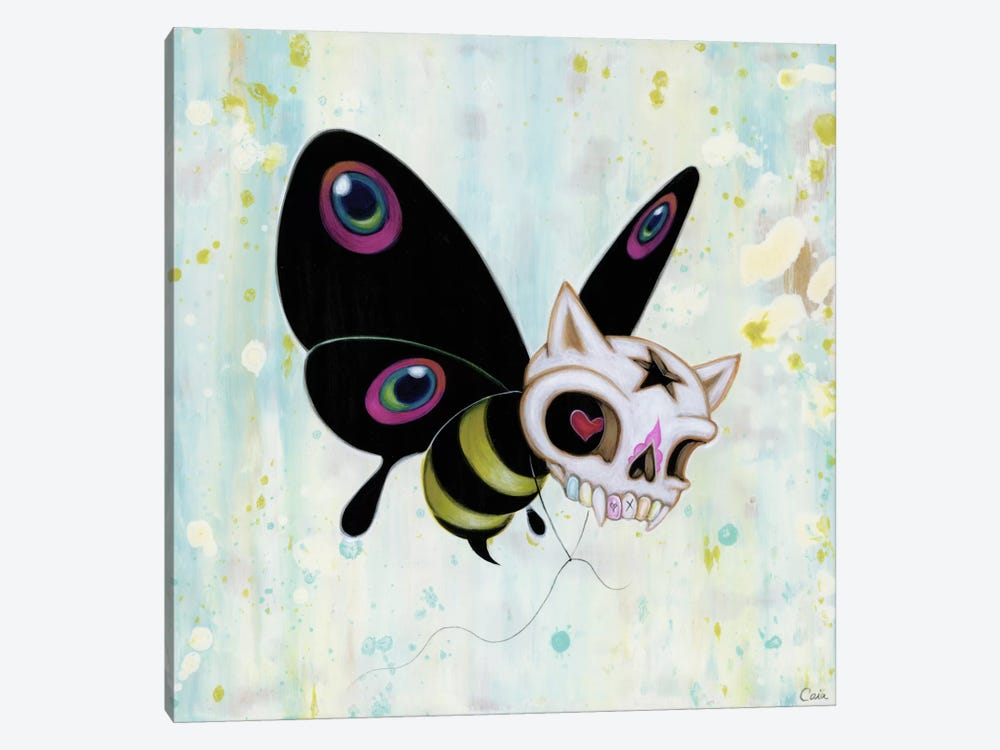 Bad Bee by Caia Koopman 1-piece Canvas Art Print