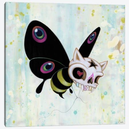 Bad Bee Canvas Print #CAI2} by Caia Koopman Art Print