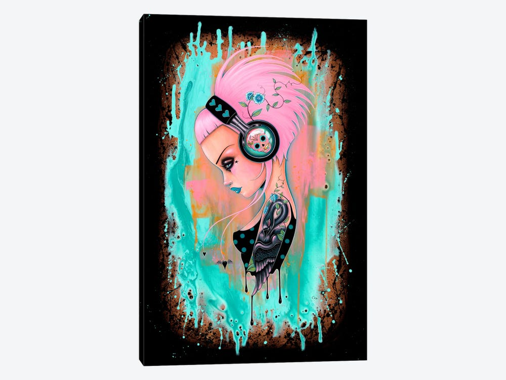 Perennial Beats by Caia Koopman 1-piece Canvas Art Print