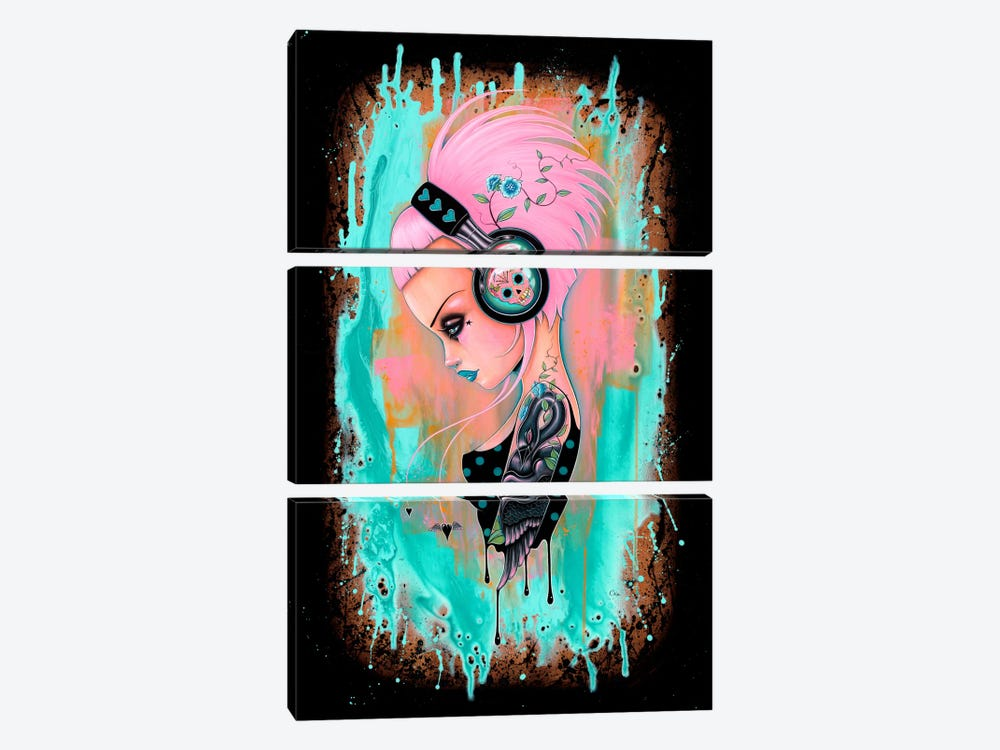 Perennial Beats by Caia Koopman 3-piece Canvas Art Print