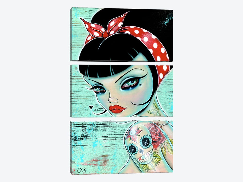 Pin-Up by Caia Koopman 3-piece Canvas Wall Art