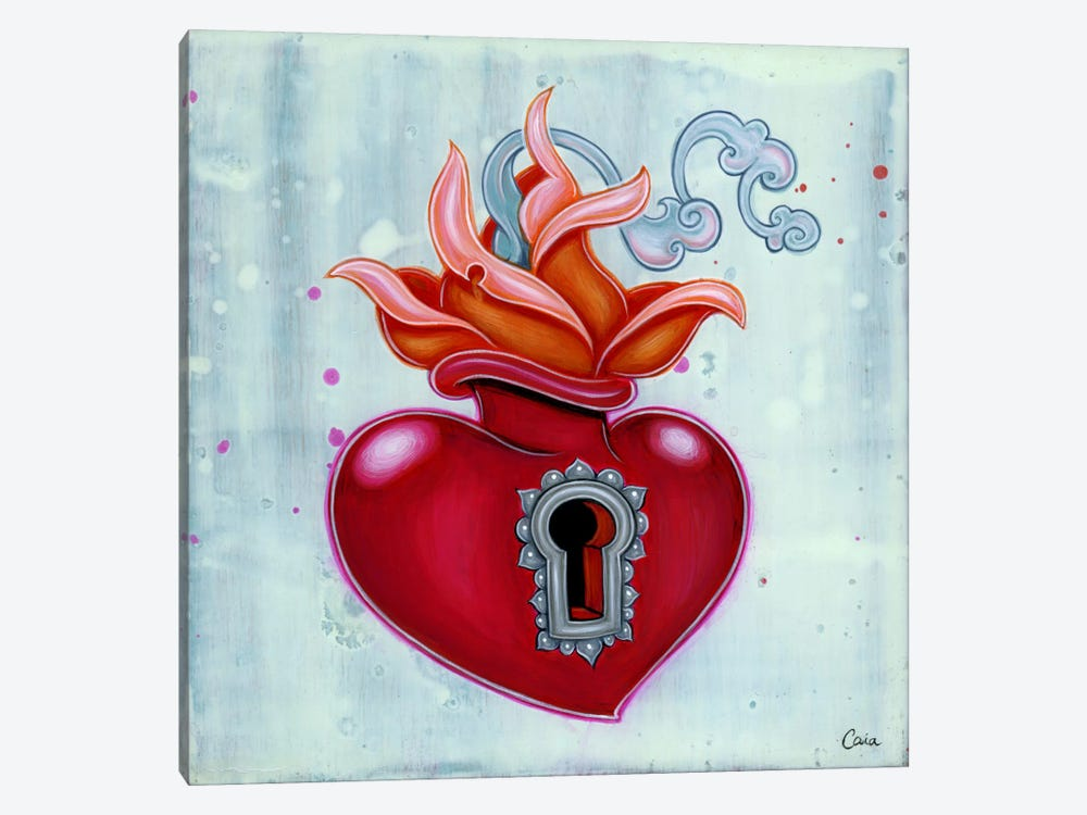 Sacred Keyhole by Caia Koopman 1-piece Canvas Wall Art