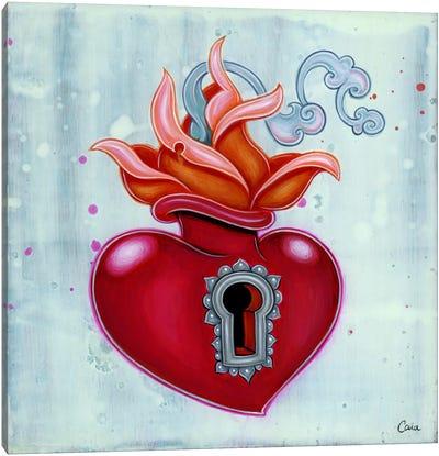 Sacred Keyhole Canvas Art Print