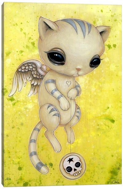 Sheila Kitty Canvas Art Print