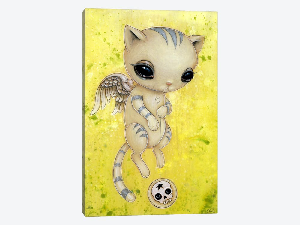 Sheila Kitty by Caia Koopman 1-piece Canvas Print
