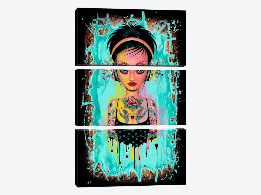 Sweet Beats by Caia Koopman 3-piece Art Print