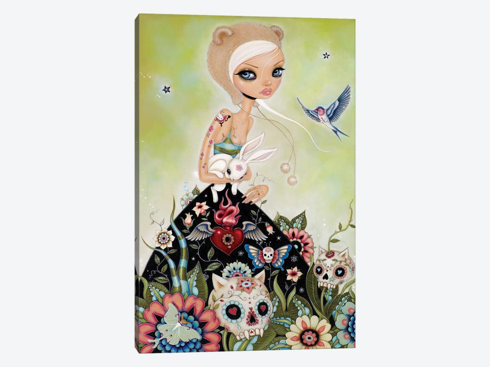 White Rabbit by Caia Koopman 1-piece Canvas Wall Art