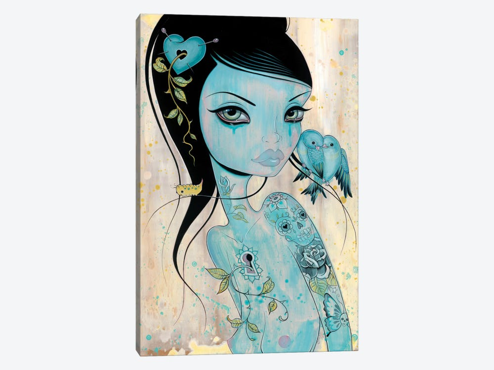 Wound My Heart by Caia Koopman 1-piece Canvas Print