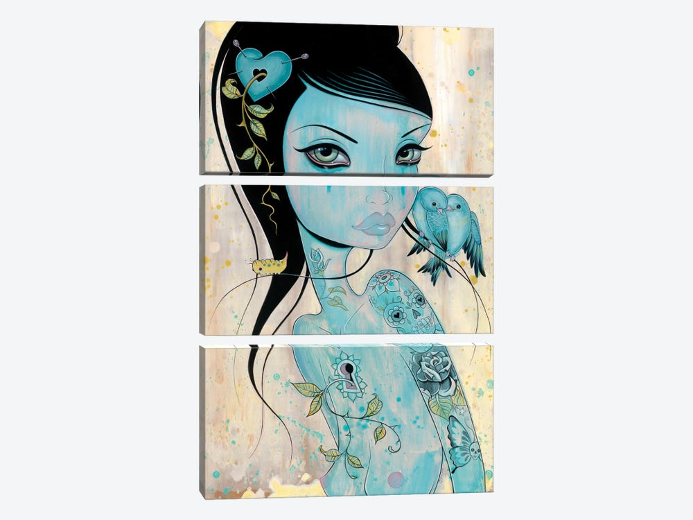 Wound My Heart by Caia Koopman 3-piece Canvas Art Print