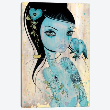 Wound My Heart Canvas Print #CAI51} by Caia Koopman Canvas Wall Art