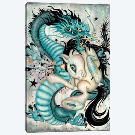 Epic Battle Canvas Print #CAI52} by Caia Koopman Canvas Artwork