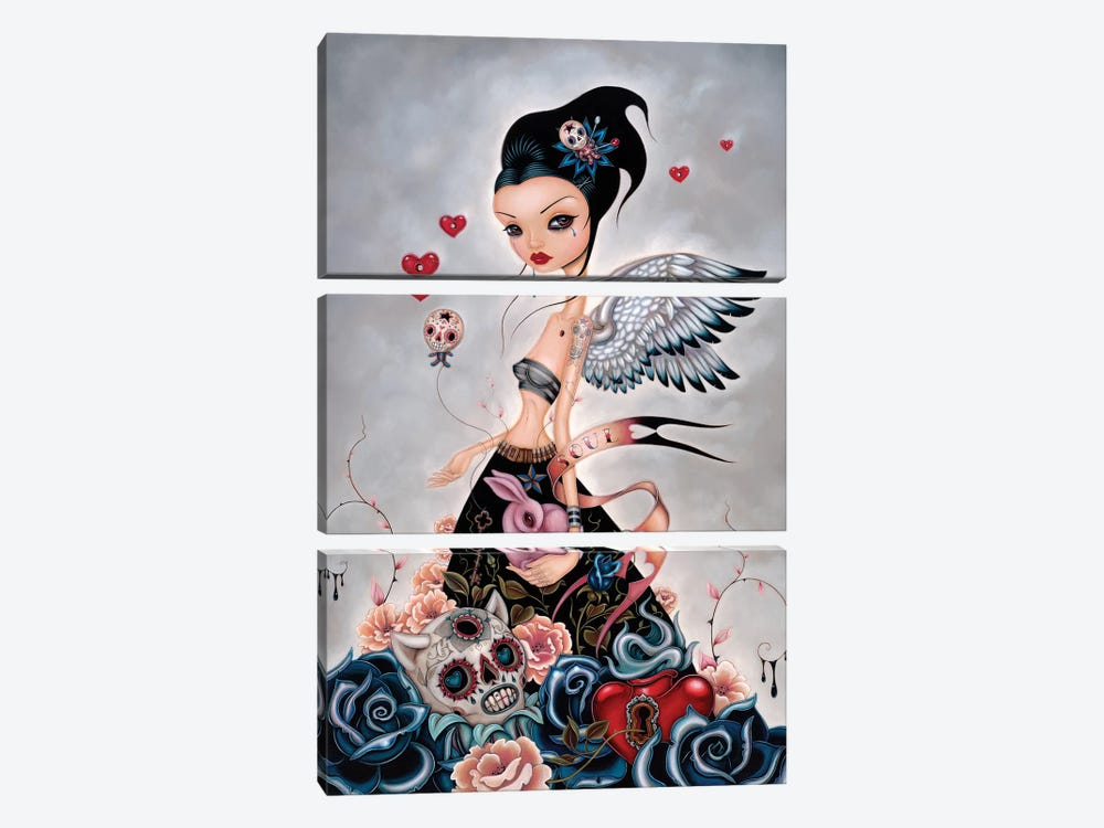 Lost Souls by Caia Koopman 3-piece Canvas Wall Art
