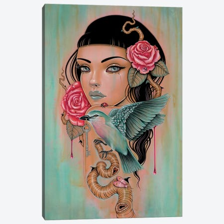 Sanguine Skein Canvas Print #CAI56} by Caia Koopman Canvas Print
