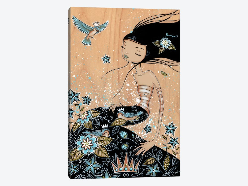 Blue Snooze by Caia Koopman 1-piece Canvas Art Print