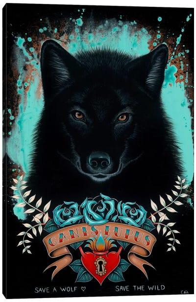 Canis Lupus Canvas Art Print