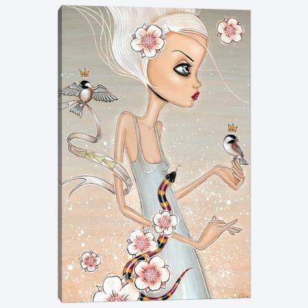 Coral 3-Piece Canvas #CAI62} by Caia Koopman Canvas Print