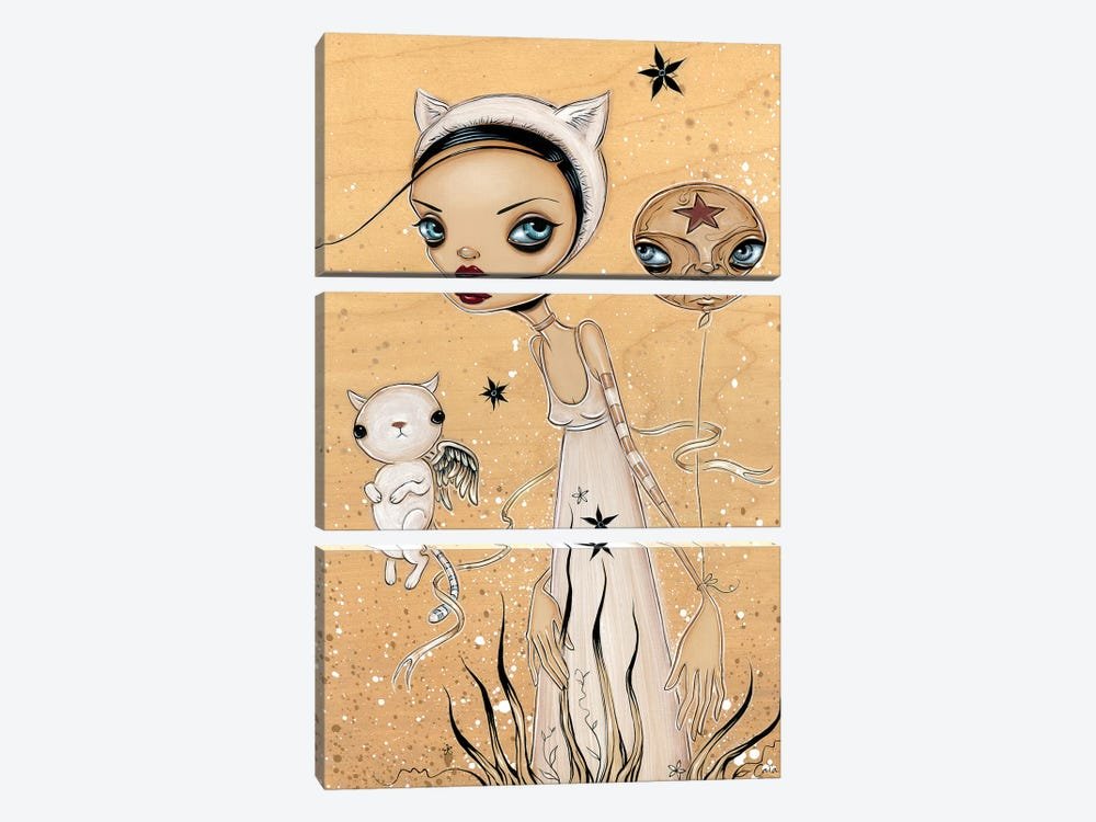 Feline by Caia Koopman 3-piece Canvas Artwork