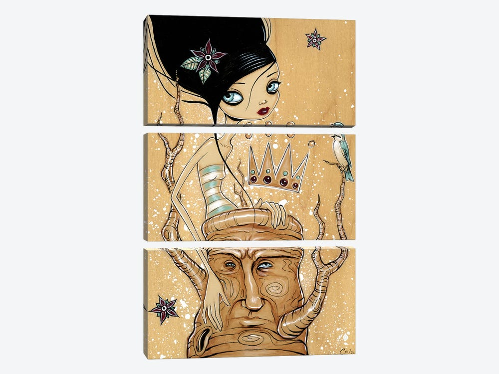 Majesty by Caia Koopman 3-piece Canvas Artwork