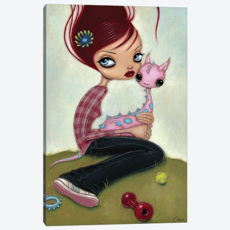 New Pet Canvas Print #CAI69} by Caia Koopman Art Print