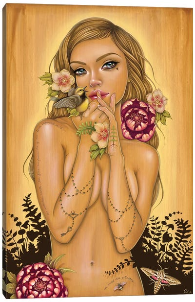 Gaia Reborn Canvas Art Print