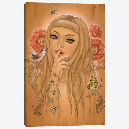 Holocene Extinction Canvas Print #CAI80} by Caia Koopman Art Print