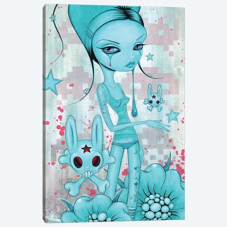 Kool Aid Tears Canvas Print #CAI81} by Caia Koopman Art Print