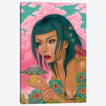 Our Own Worst Enemy Canvas Print #CAI84} by Caia Koopman Canvas Art